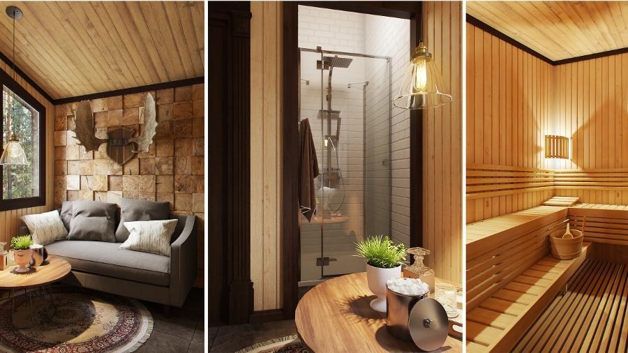 Дизайн проект бани